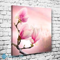 Floral Magnolia Tablo II #çiçekli_kanvas_tablo