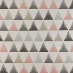 Bomull grå m pudder/sand trekanter Isosceles Triangle, Diy And Crafts, Sewing, How To Make, Decor, Interiors, Triangles, Weaving, Gray