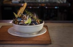 Church&State Restaurant French mussels the best