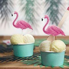 Hawaiian Luau große Flamingo Cup Palme Folie Ballon Banner Party Decor