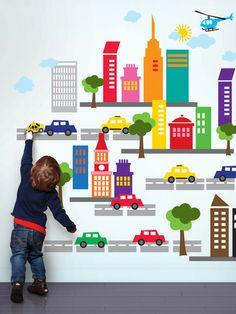 Francés Bull City extraíbles Adhesivos de pared de las artes wallcandy hasta 60% de descuento en dorado
