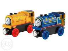 Black Friday 2014 Thomas Wooden Railway - Bill and Ben from Fisher-Price Cyber Monday. Black Friday specials on the season most-wanted Christmas gifts. Wooden Toy Train, Wooden Toys, Play Vehicles, Der Bus, Fisher Price Toys, Gross Motor Skills, Thomas And Friends, Train Car, Friends Tv Show
