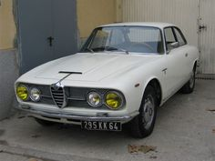 Alfa Romeo 2600 Sprint del año 1964