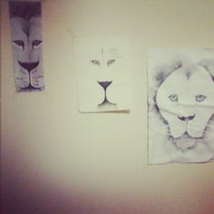 Lions # my drawing