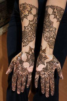 Amazing Mehandi Designs 2013
