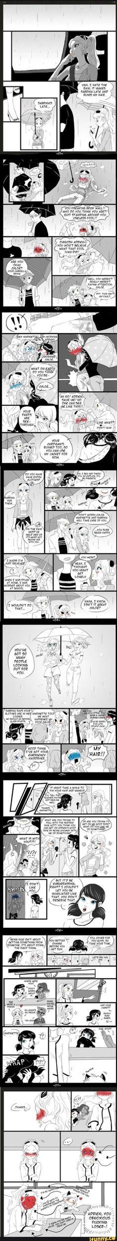 Got mixed feelings of whether mari would do that, but comics too cute omg