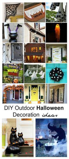 50 Easy DIY Outdoor Halloween Decoration Ideas for 2017 Halloween