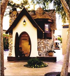 Cottage Playhouse on Cool Mom Picks. I'm cool with having this for the kids as long as I can have a real house that looks like this!