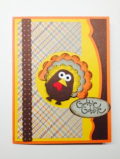 Stampin Up Thanksgiving Cards 2013