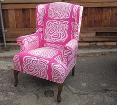 traditional ideaswing fairfield wing chair w ultra plush cushion this chair makes me happy looking at it