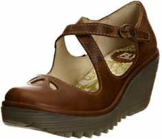 Fly London Women's Yate Wedge Court Shoes: Amazon.co.uk: Shoes & Bags