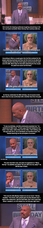 Steve Harvey Gets A Surprise Awe:3