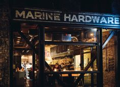 At Marine Hardware, in the Ballard neighborhood, the ingredients might be high-end, but the vibe is low-key.