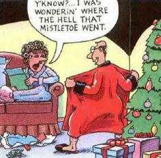 Missing Mistletoe