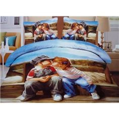 Lovely Kissing Babies Print Duvet Cover Sets Live a better life start with 3d Bedding Sets, Bedding Sets Online, Queen Bedding Sets, Queen Size Duvet Covers, Comforter Cover, Duvet Cover Sets, Beautiful Bedding Sets, Drawing Room Interior, Bedclothes