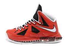 brand new d579b 5ae06 Nike Basketball Lebron 10 Shoes Varsity Red Black White Medal Nike Air Max  Mens, Cheap