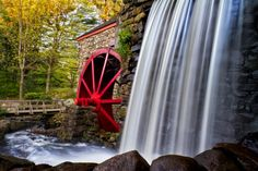 Grist Mill At Sudbury