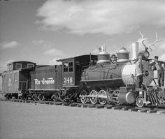 Rio Grande Western Railroad locomotive (2-8-0) #346