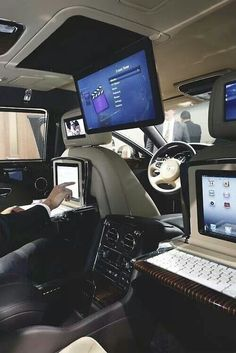 This picture shows that technology can be al around us! Including our transportation (car).