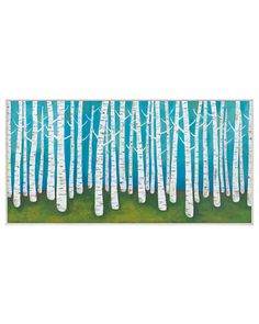 McGaw Graphics 'Springtime Birches' by Lisa Congdon
