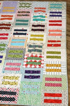 Knottygnome's Equality Quilt.  Love love love the scrappiness of it.  :)