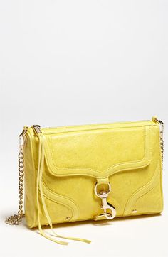 Rebecca Minkoff 'M.A.C. Bombe' Shoulder Bag Yellow