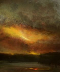 "Saatchi Art Artist Maurice Sapiro; Painting, ""Twilight"" #art"