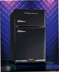 Nostalgia Electrics -something like this, but real fridge sized, rather than mini