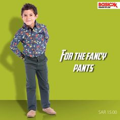 Give your little one a reason to show off his #style in these #denim pants from Basicxx. Shop now. #Basicxx #BasicxxOnline #InspirationFulfilled #Riyadh #Jeddah #Dhahran #BasicxxKids