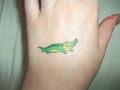 Alligator+Tattoo+Drawings   Alligator Tattoo Tumblr Alligator tattoo by anthamiala