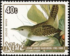 House Wren stamps - mainly images - gallery format