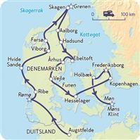 Denemarken, van stad tot strand