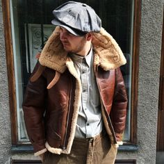 Eastman Leather B-3 i gruppen Unionville / Jackor hos Sivletto (w10559)
