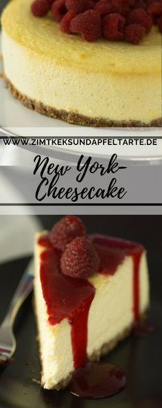 Der Klassiker schlechthin: New York Cheesecake - super fluffig und wahnsinnig cremig, einfach nach meinem Rezept zu backen