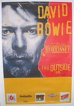 david bowie outside tour poster - Google-haku