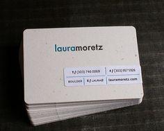 50 minimalist business cards