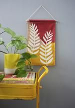 Our mini wall hangings feature original botanical designs printed on thick, quality canvas fabric and suspended from natural Tasmanian oak with cotton twine - ready to be hung as a perfect addition to your home or office space. Fabric Wall Decor, Wall Decor Design, Cotton Canvas, Canvas Fabric, Mini Canvas, Affordable Art, Ferns, Twine, Colours