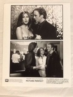 Picture Perfect Movie Photo Jennifer Aniston Jay Mohr Kevin Bacon 1997 20th Cen