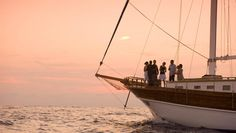 Embark on a boat journey heading towards the setting sun far away in the horizon on Sunset Cruises in #Maldives #Travel http://www.visitmaldives.com/en/pages/sunset-cruise