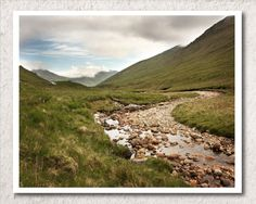 River in Scotland, Landscape Photography, Travel