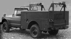 M726 Kaiser jeep telephone maintenance truck