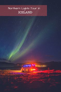 When planning our trip to Reykjavik we thought it is best if we look around for a Northern Lights tour in Iceland. After all, we didn't want to go driving around outback Iceland in the middle of the night with no idea what we were looking for. #Northernlights