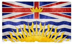 British Columbia is the westernmost province of Canada. In it became the sixth province of Canada. British Columbia is also a component of the Pacific Northwest, along with the US states of Oregon and Washington. Canadian Provincial Flags, Canadian Flags, British Columbia Flag, Montreal, World Geography Games, Vancouver, Colombia Flag, Flag Coloring Pages, State Of Oregon