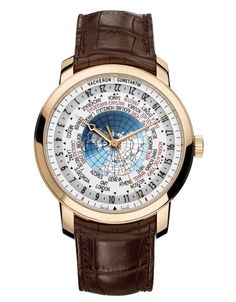 Vacheron's 'World Time' design most popular in Los Angeles includes a shadow that moves over...