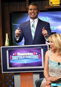 quote:  Andy hosts #WWHL's craziest game ever - the East Coast Housewives versus the West Coast Housewives in a Real Housewives Battle Royale!