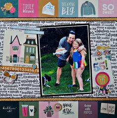 Adorable scrapbook layout by Marci (@marcilynnb) using our gorgeous September 2020 Kit ✂💯✂  Want to get these adorable papers? Visit scrapbookingstore.com now, be sure to join us and get exciting deals!💝  #scrapbookingstore #iam2020 #scrapbooklayout #scrapbookingkits #papercraft #scrapbooking #cardmaking Scrapbook Paper Projects, Baby Scrapbook, Cardmaking, Art Projects, Cheer, Paper Crafts, Layout, Baseball Cards, Scrapbooking