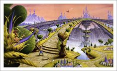 Rodney Matthews, Alice in Wonderland