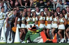 2001 was a season with plenty to cheer about as the Ducks made their first BCS Bowl appearance, downing Colorado in the Fiesta Bowl and finishing 11-1.