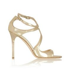Jimmy Choo - sexy metallic leather sandals