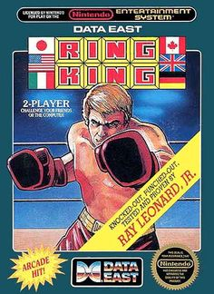 Ring King Nintendo Nes Game Cartridge - Tested for sale online Classic Video Games, Retro Video Games, Retro Games, Video Game Rooms, Video Game Art, Game Boy, Nes Collection, Ps4, Dream Cast